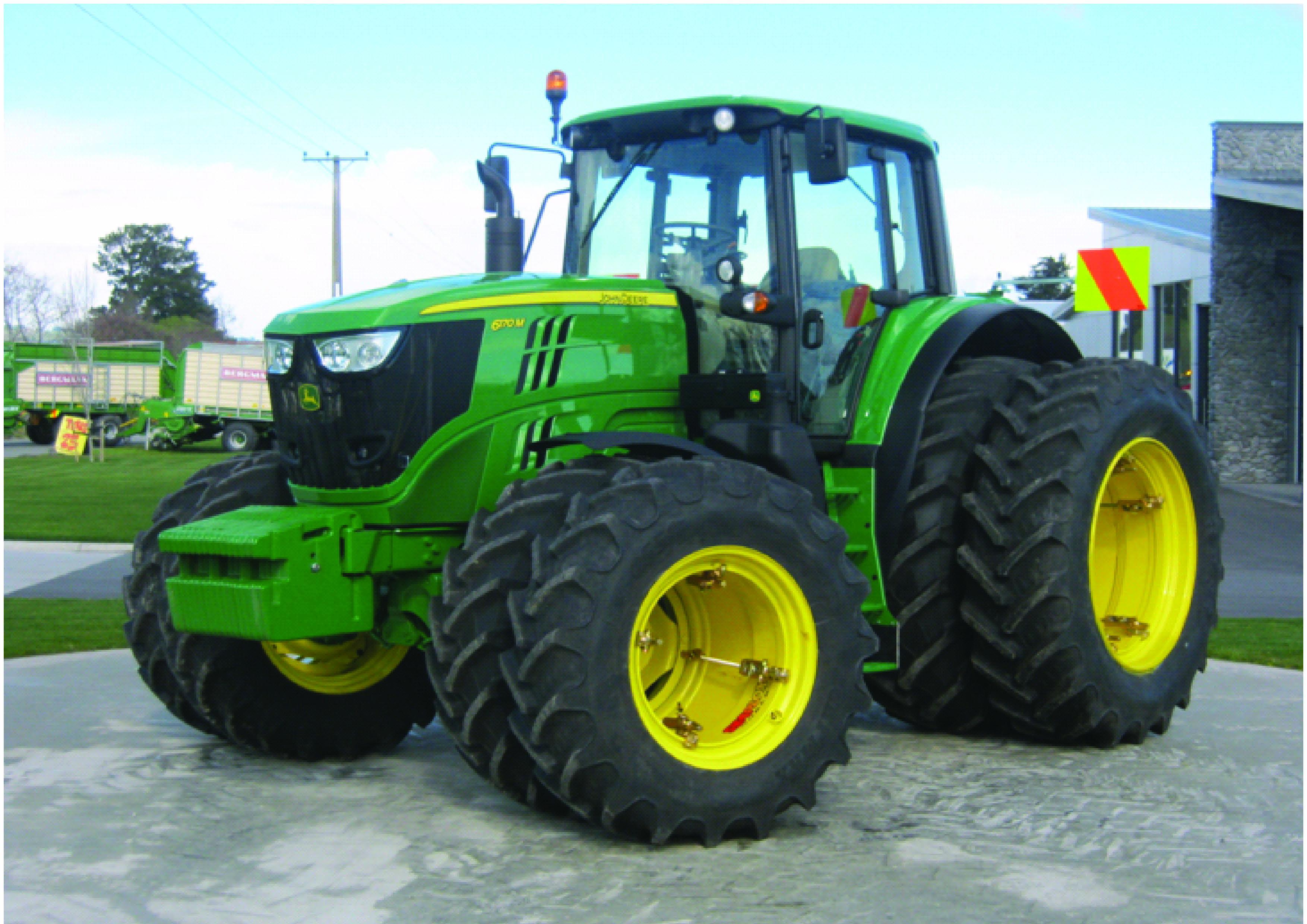 Tractor Dual Tires Handling : Dual wheels trs tyre wheel